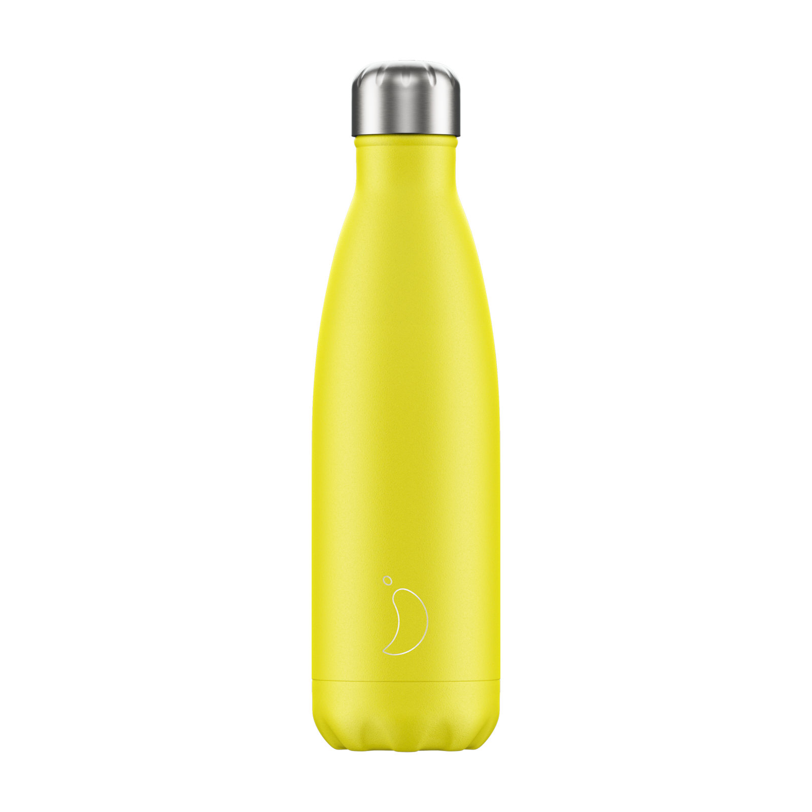 Chilly's Water Bottle 500ml - Neon Yellow