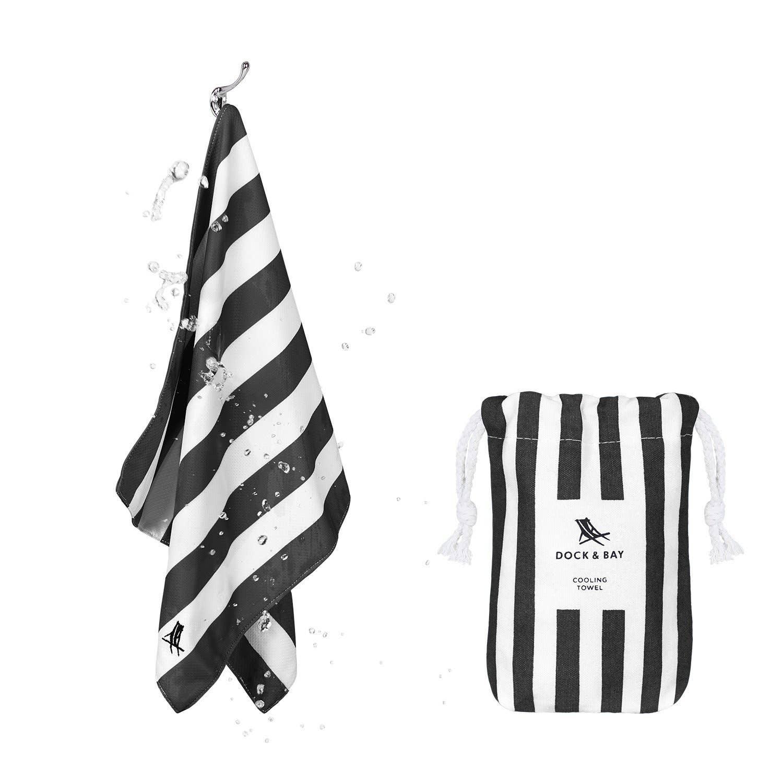 Dock & Bay - Cooling Sports Towel –  Kamari Charcoal