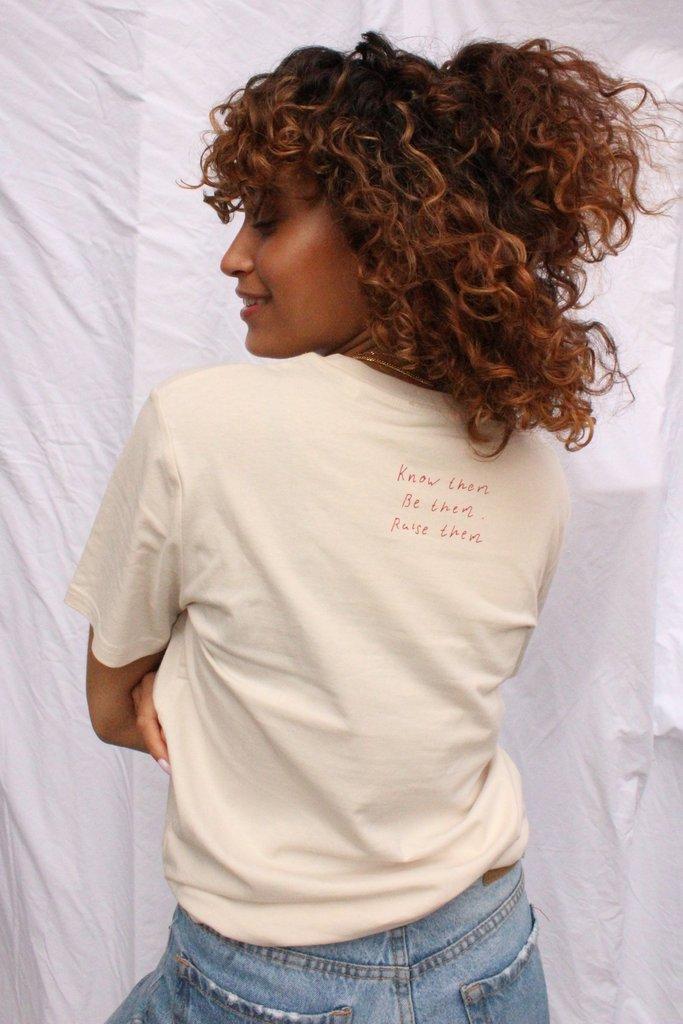 'Une Femme Libre' T-Shirt - Olive & Frank