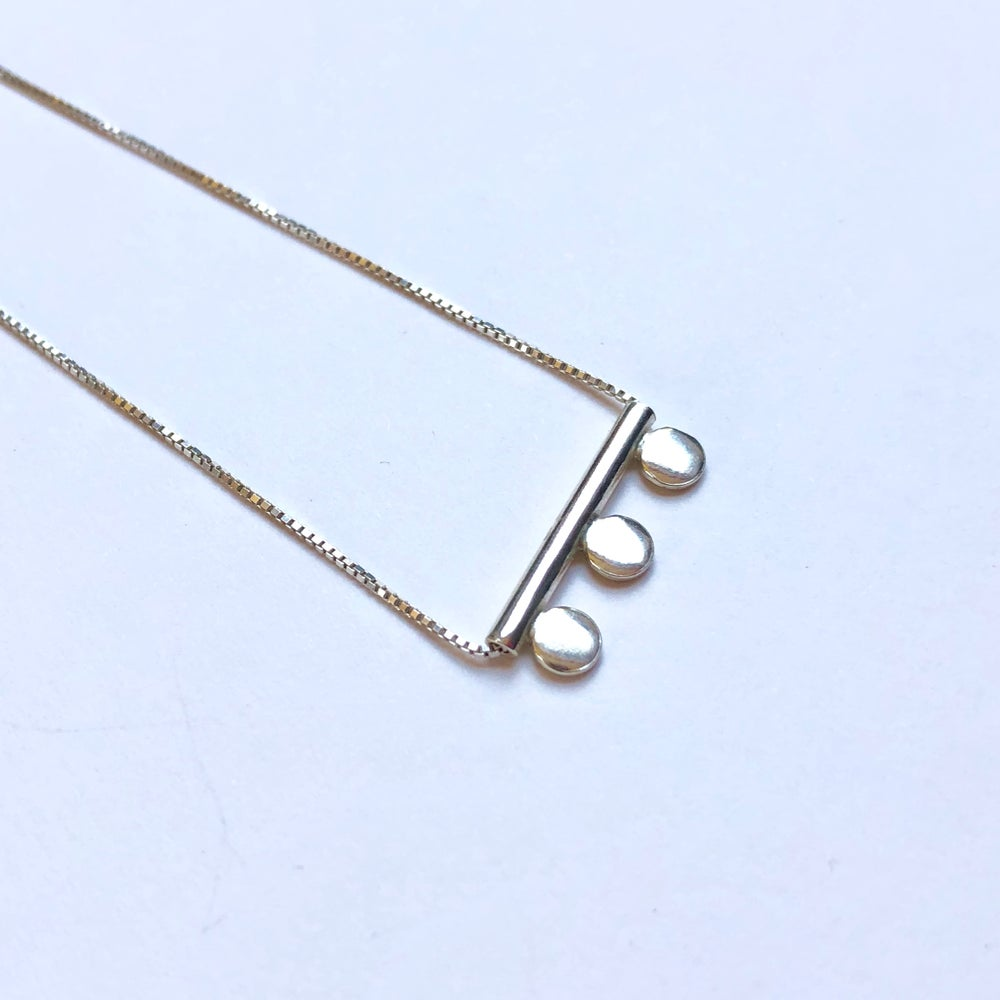 Lima Lima - ECO SILVER THREE DOT NECKLACE