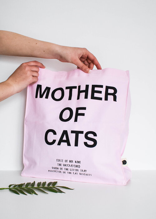 Niaski  Mother of Cats Tote bag