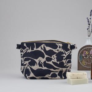 Blasta Henriet - Large Wash Bag Navy