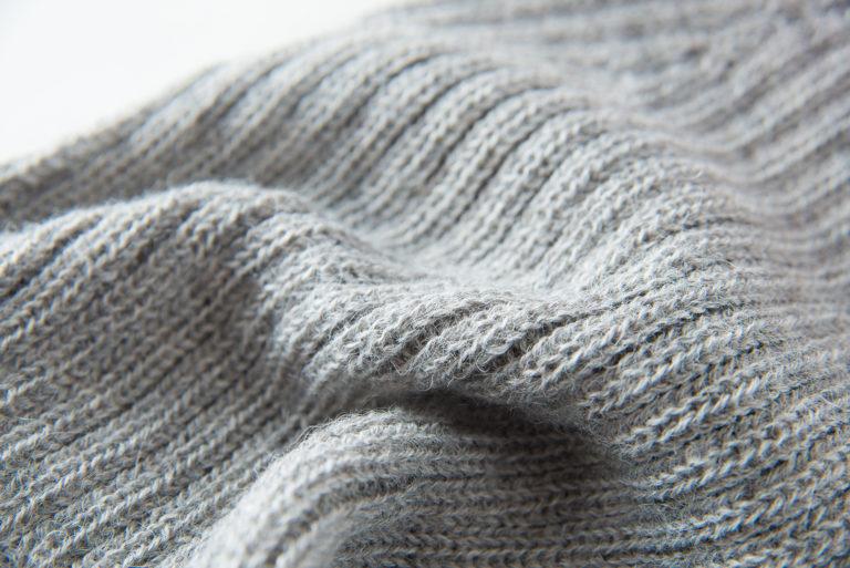 OBG - GREY 100% Alpaca Wool Scarf