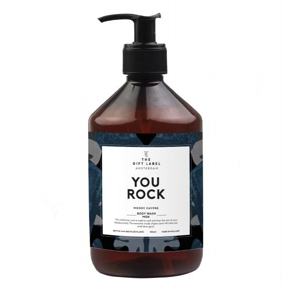 The Gift Label - Body Wash - You Rock (500ml)