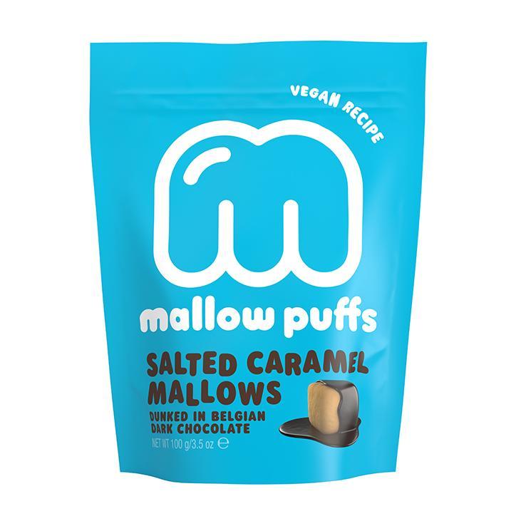 Mallow Puffs Salted Caramel Choc Mallows 100g