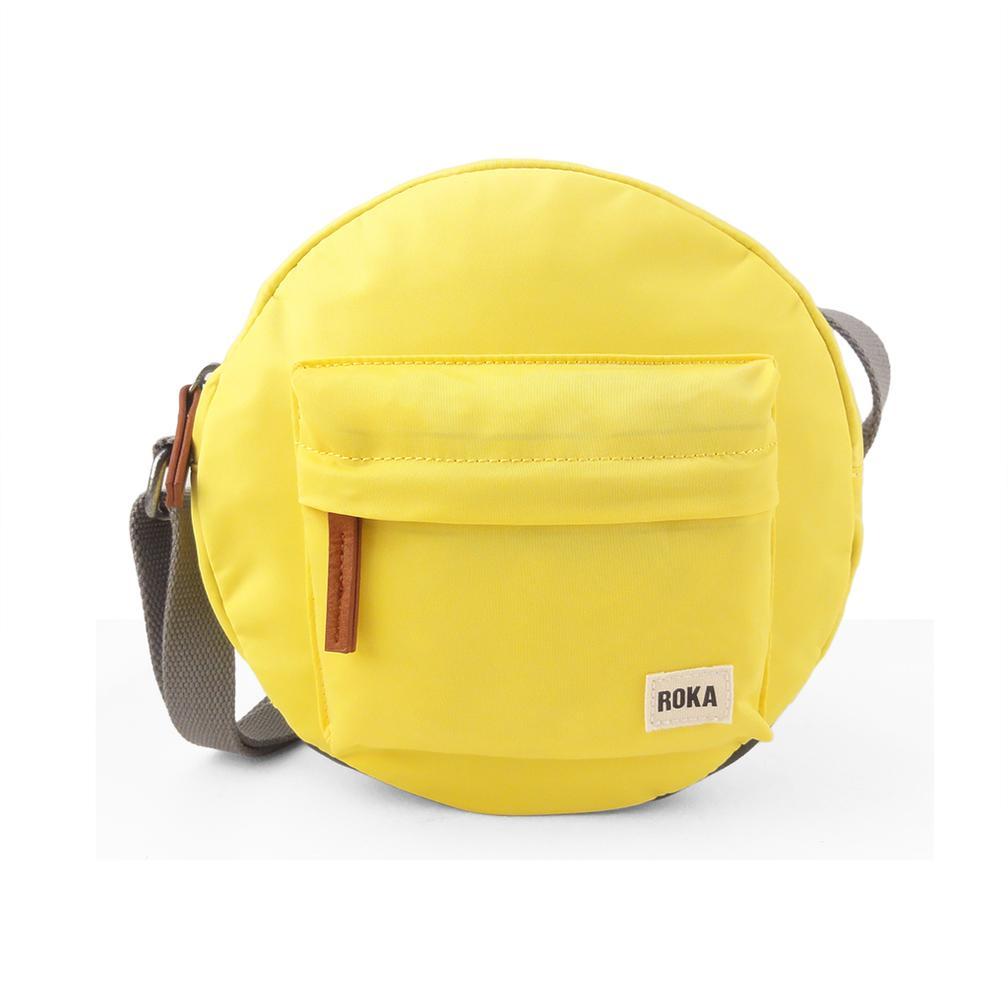 Roka Bags - Paddington B Small Crossbody - Lemon