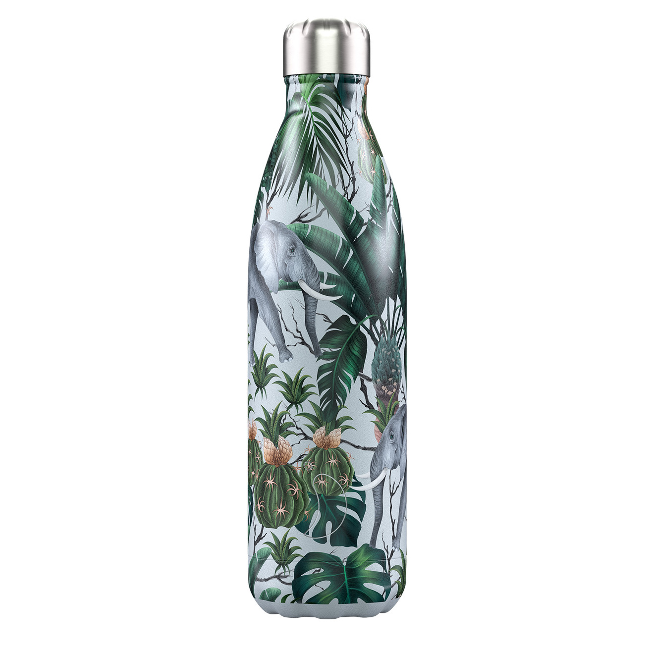Chilly's Water Bottle 500ml Special Edition - 3D Tropical Elephant