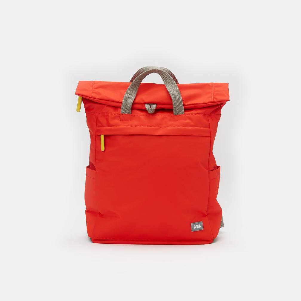Roka Backpack - Camden A Medium - Neon Red