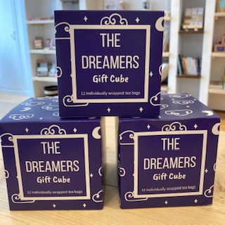The Dreamers Gift Cube tea bags