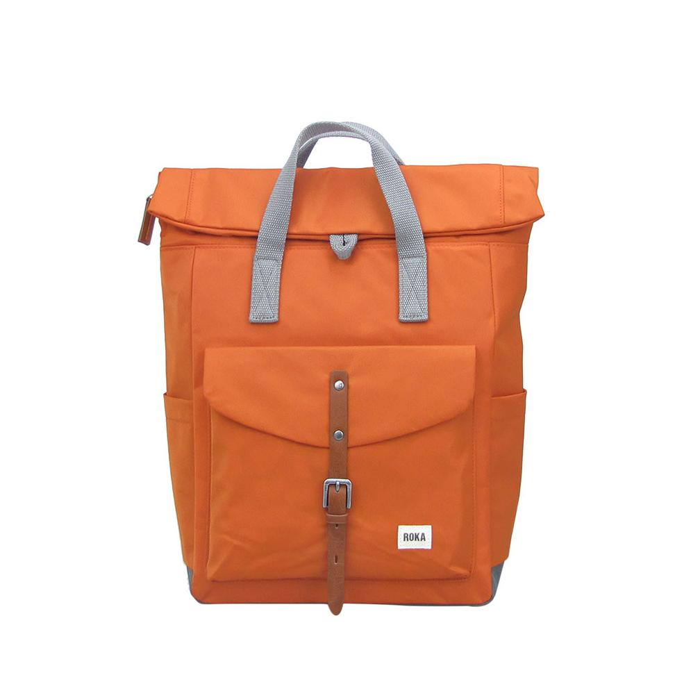 Roka Backpack -  Canfield C Medium - Burnt Orange