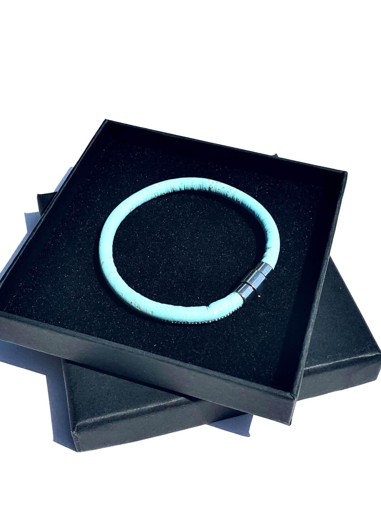 ESC - Turquoise Single Loop Vegan Bracelet