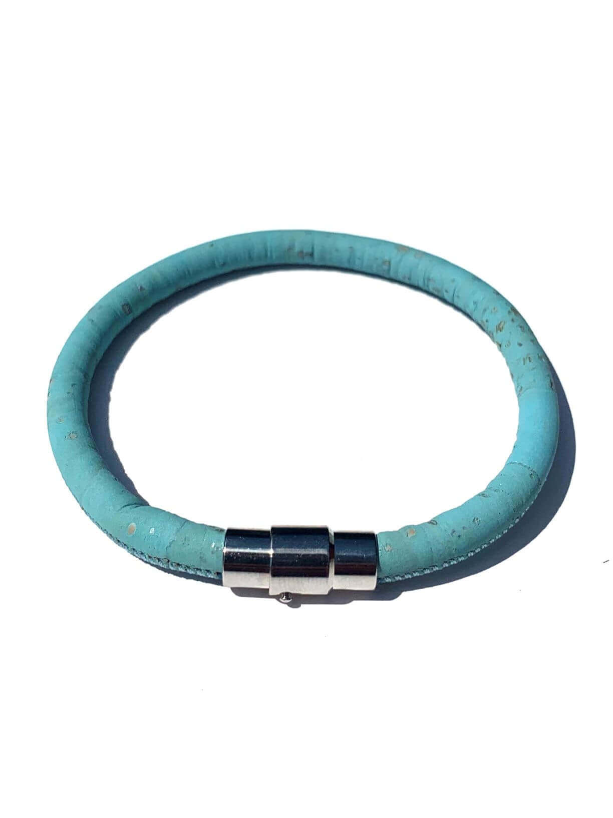 ESC - Turquoise Single Loop Vegan Bracelet