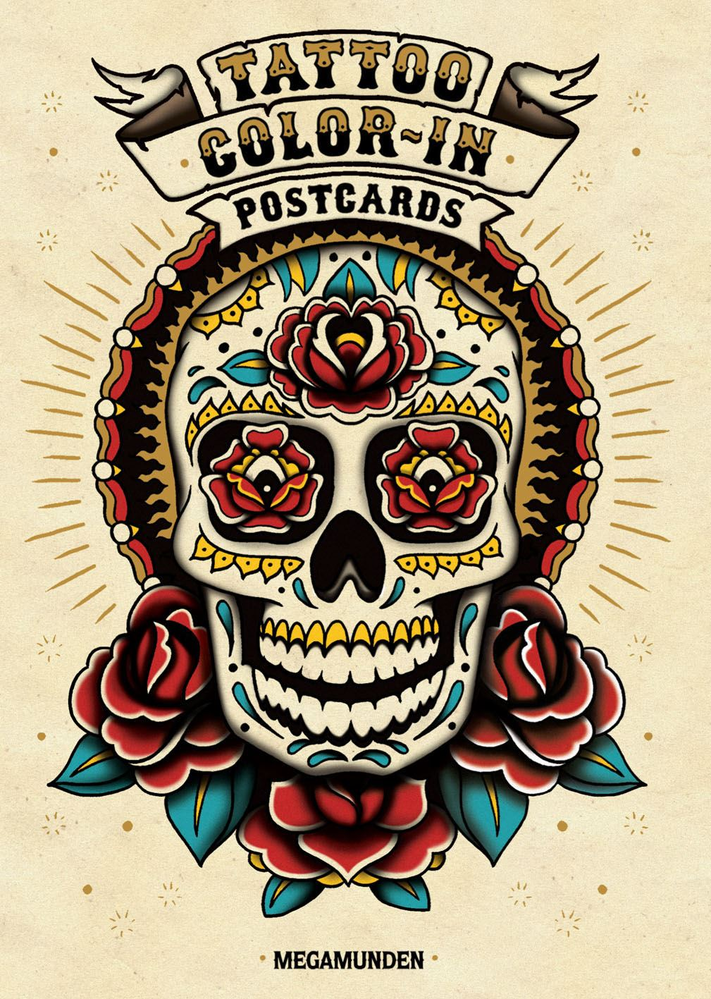 Tattoo Colour in Postcards