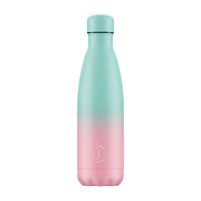 Chilly's Water Bottle 500ml  - Gradient Pastel