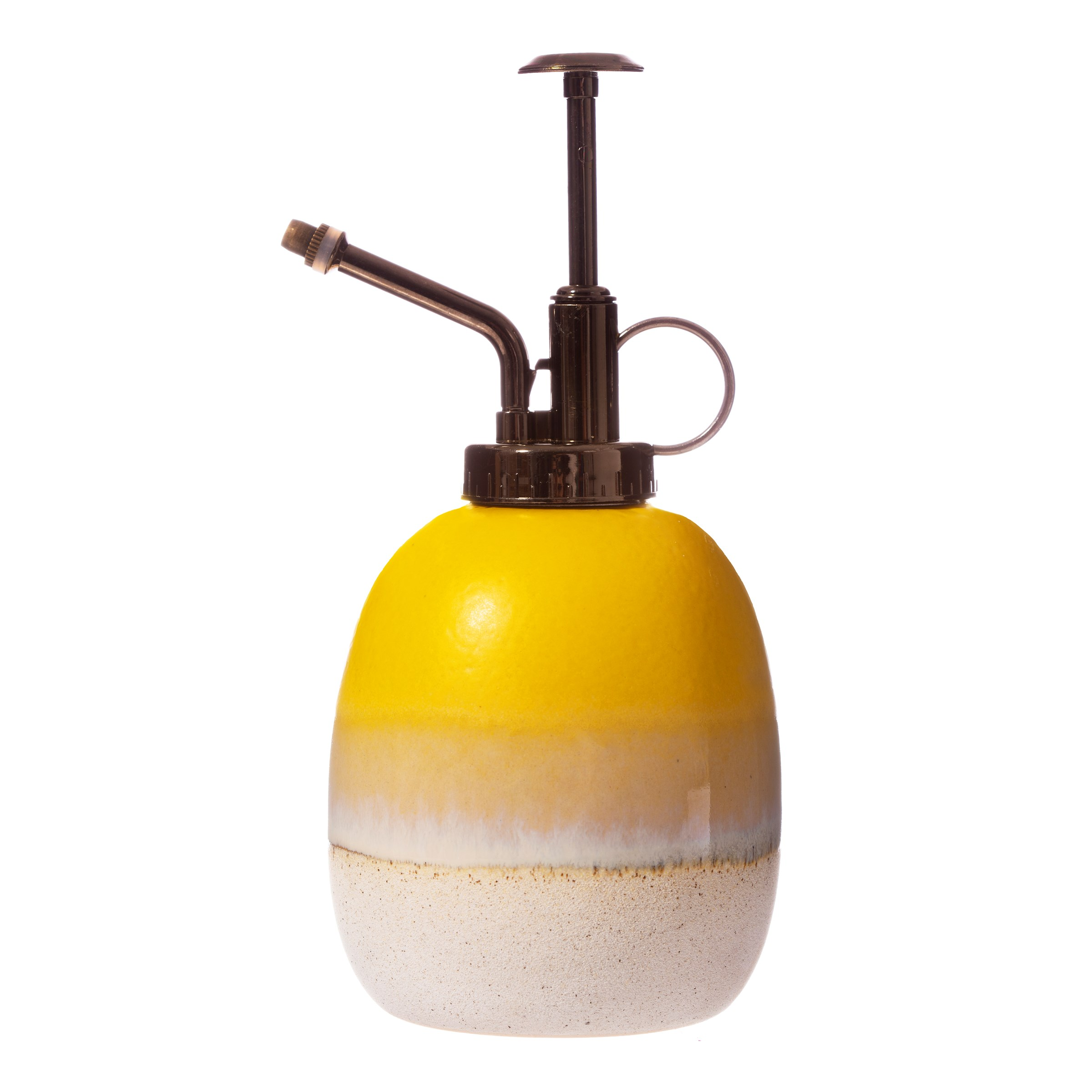 Mojave Glaze Yellow Ceramic Plant Mister
