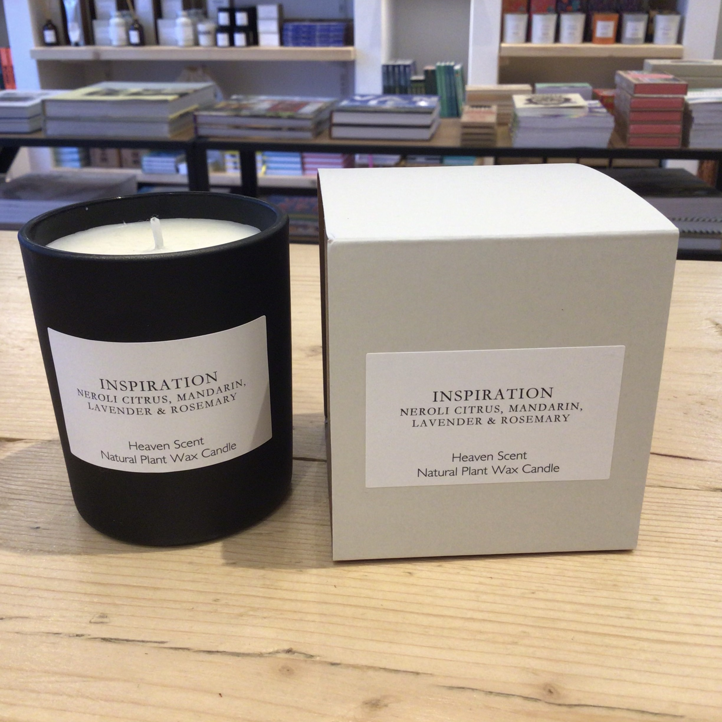 Heaven Scent - Inspiration  - Natural Plant Wax Candle