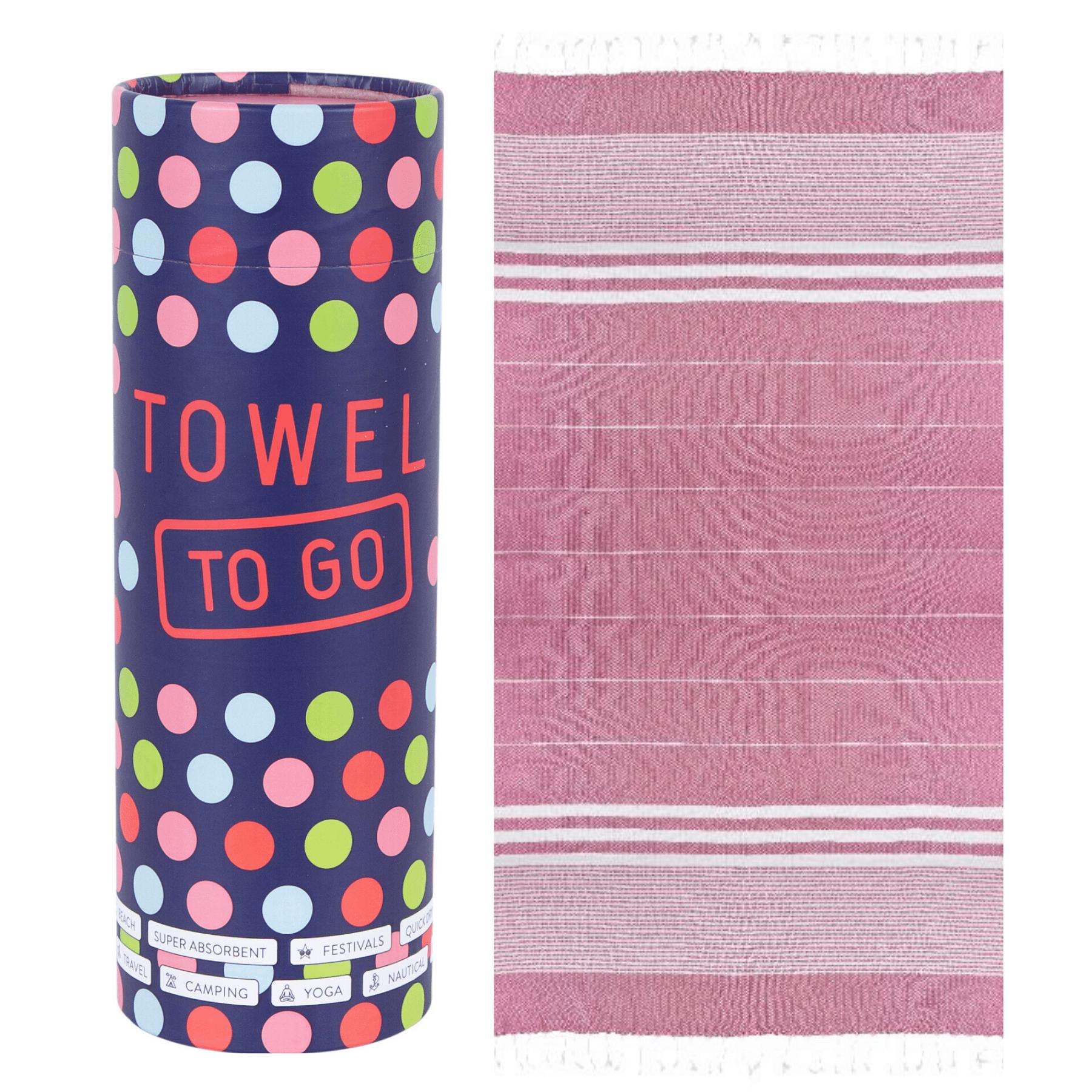 Towel to Go - Hammam towel in Fushia