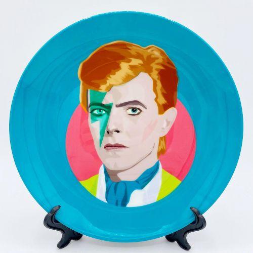 "'David Bowie' (Art Wow 10"" Plate)"