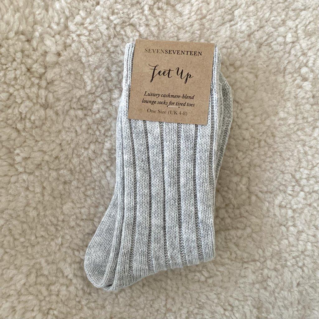 SevenSeventeen - Feet Up / Luxury Lounge Socks