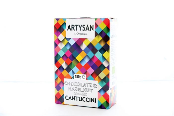 Artysan by Organico - Chocolate & Hazelnut Cantuccini