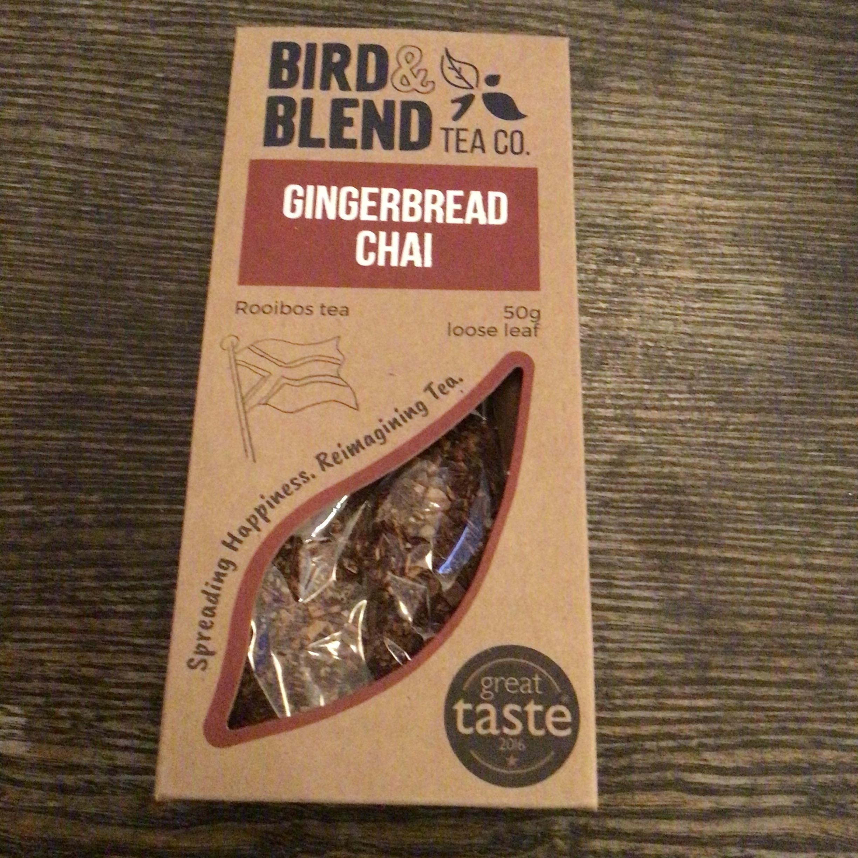 Bird & Blend Tea - Gingerbread Chai Rooibos Loose Leaf Tea (50g)