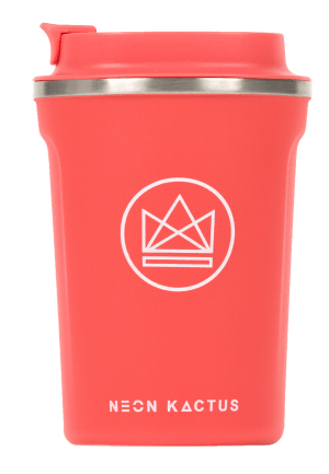 Neon Kactus - Dream Believer Stainless Steel Coffee Cup