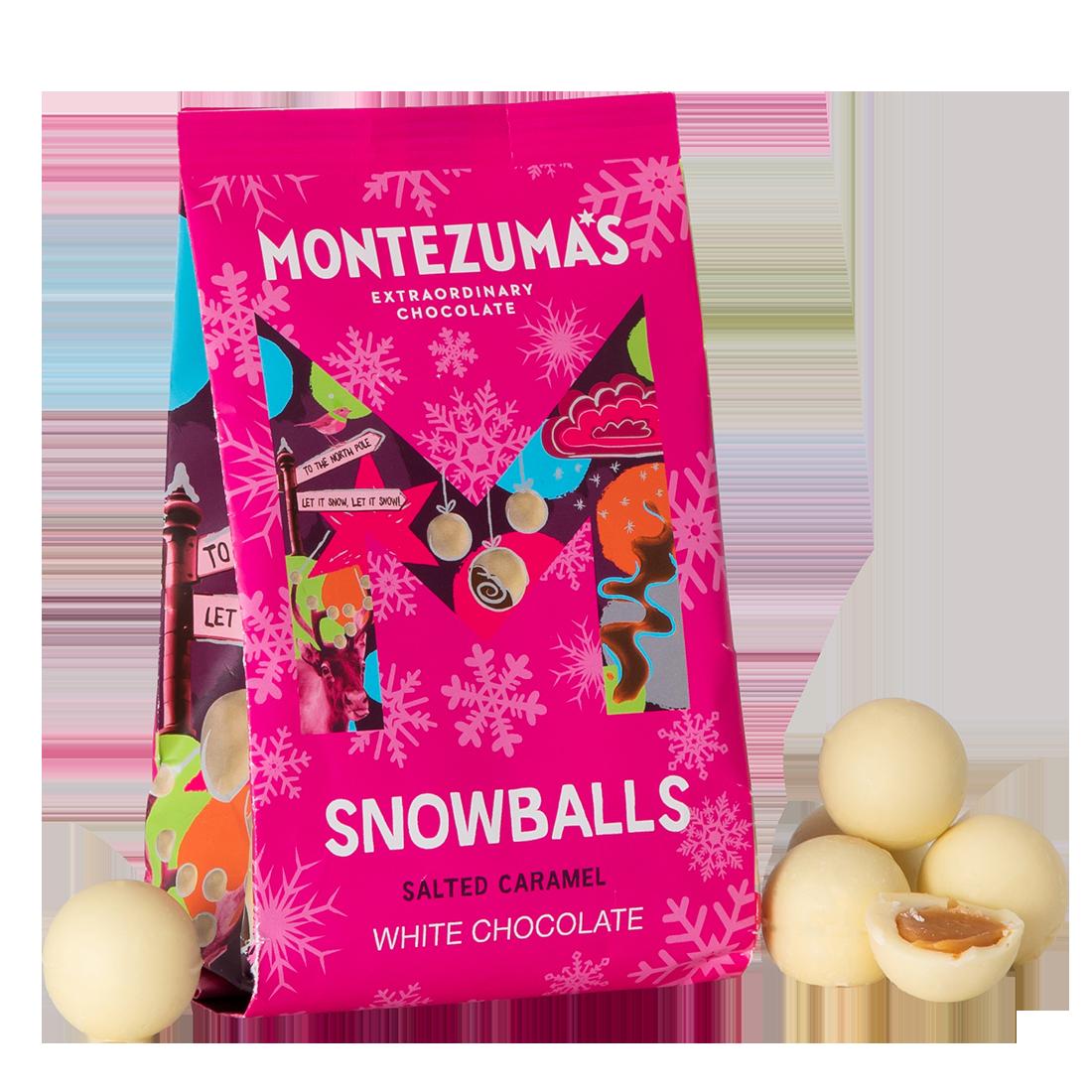 Montezumas Chocolate - Caramel Choc  Snowballs 150g