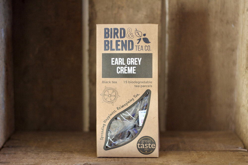 Bird & Blend - Earl Grey Creme Tea Bags (15)