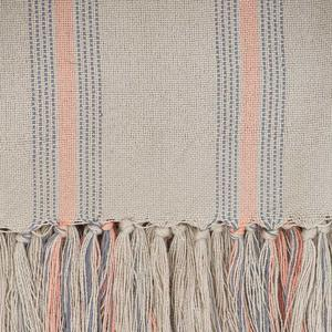 Weaver Green - Cannes Coral / Grey Throw