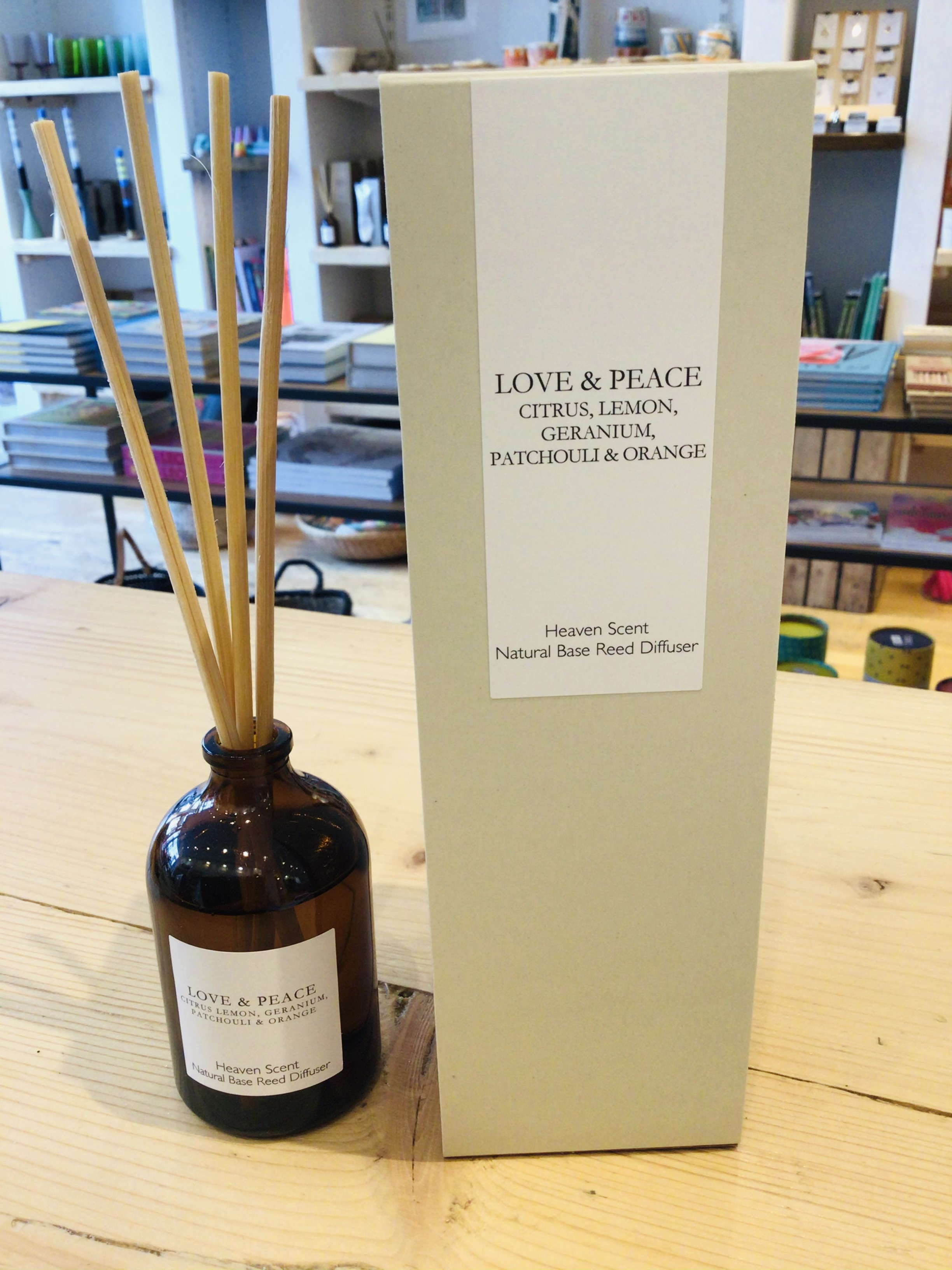 Heaven Scent Reed Diffuser - Love & Peace