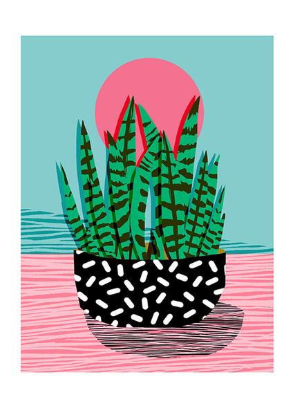 'AMPED'   (A3) Art Print
