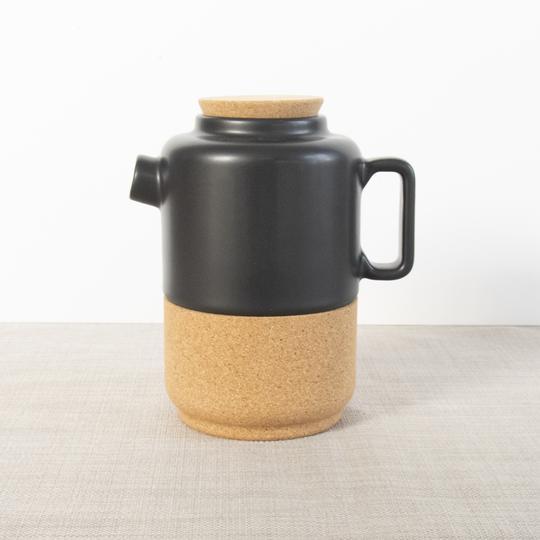 Liga Teapot for Two - Matte Black