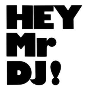 'Hey Mr DJ' (A3) Art print