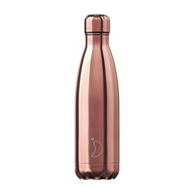 Chilly's Water Bottle 500ml - Rose Gold