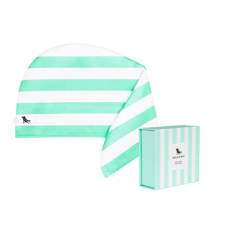 Dock & Bay Hair Wrap - Quick Dry Towel - Narrabeen Green