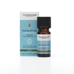 Tisserand - Organic Eucalyptus Essential Oil (9ml)