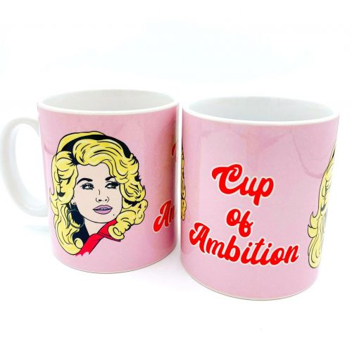 ' What Would Dolly Do ? ' Mug  (Art Wow)