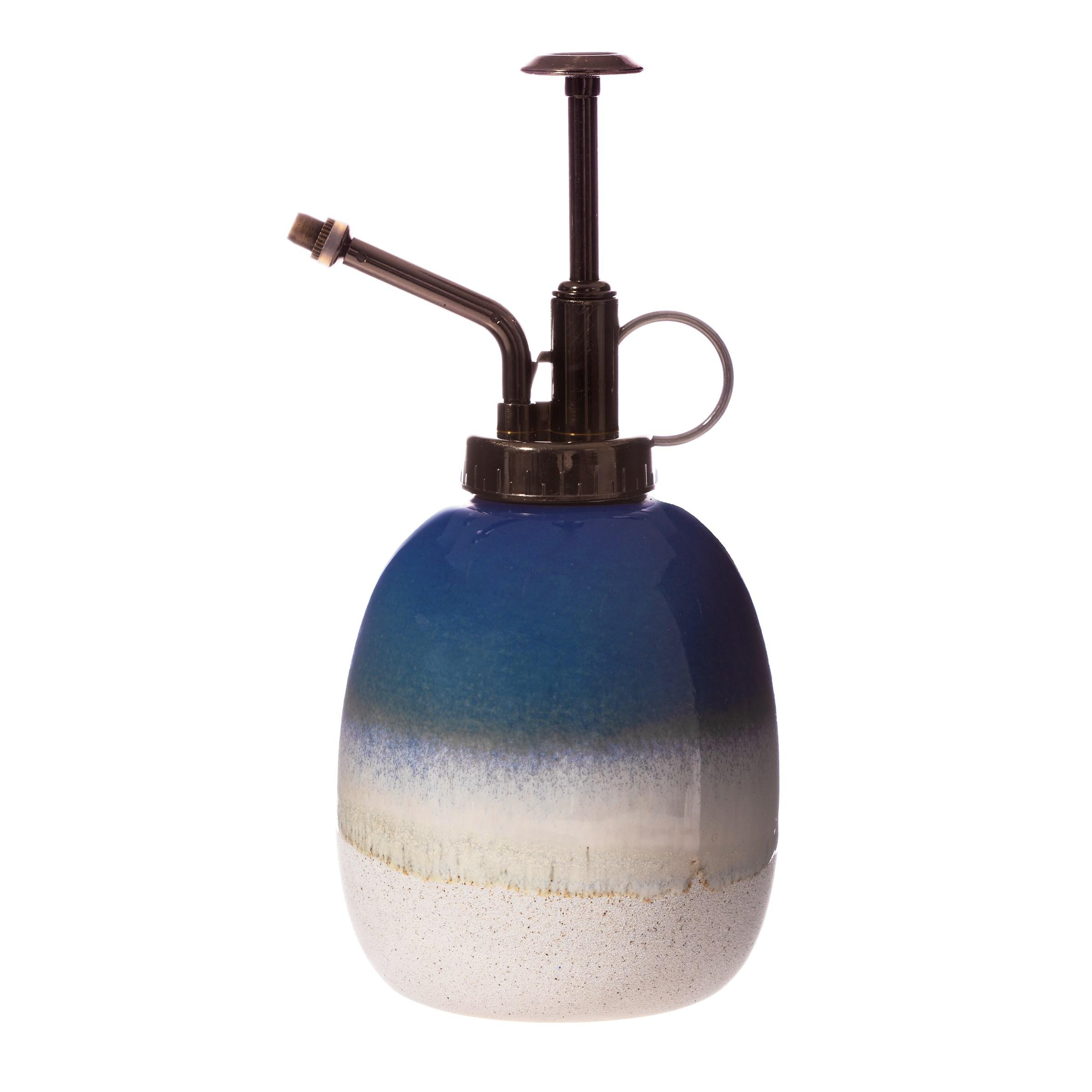 Mojave Glaze Blue Ceramic Plant Mister