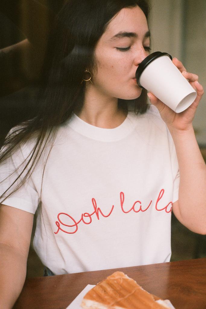 'Ooh La La' T-Shirt - Olive & Frank
