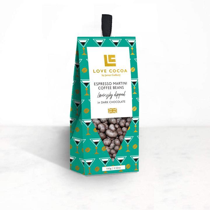 Love Cocoa - ESPRESSO MARTINI COFFEE BEANS (VEGAN)