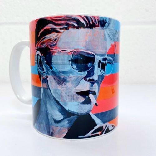 'Neon Bowie' Mug (Art Wow)