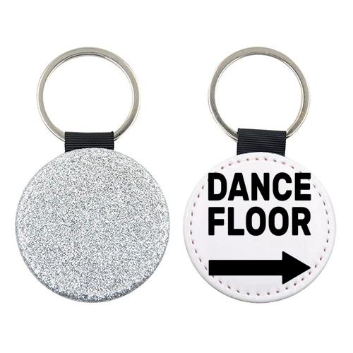 ' Dance Floor ' Keyring (Art Wow)