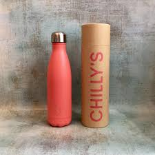 Chilly's Water Bottle 500ml - Pastel Coral