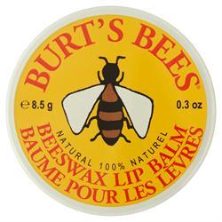 Burts Bees - Beeswax lip balm tin .30 oz