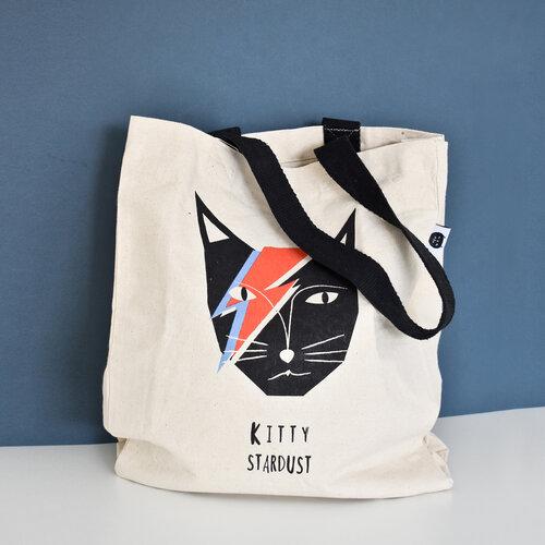 Niaski - Kitty Stardust Tote Bag