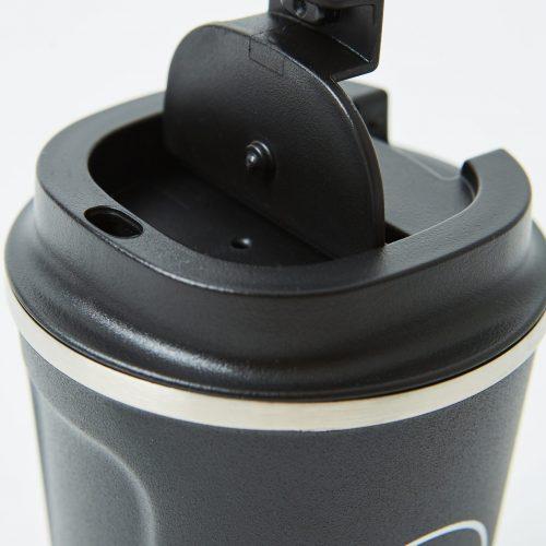 Neon Kactus -  Black Stainless Steel Coffee Cup