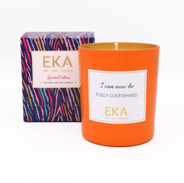 EKA -  Clementine & Clove Soy Wax candle