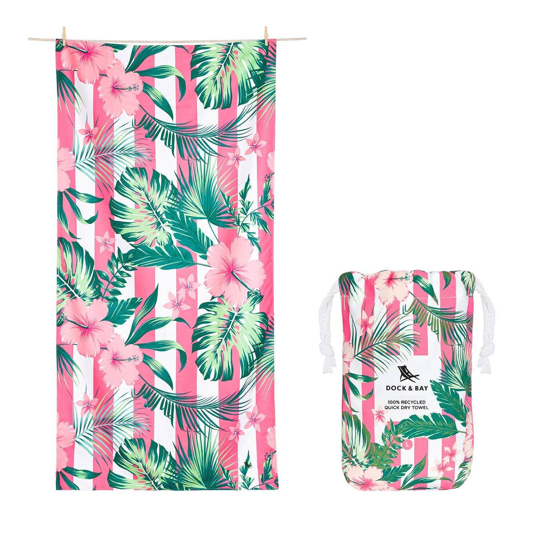 Dock & Bay - Quick Dry Towel - Botanical - Heavenly Hibiscus