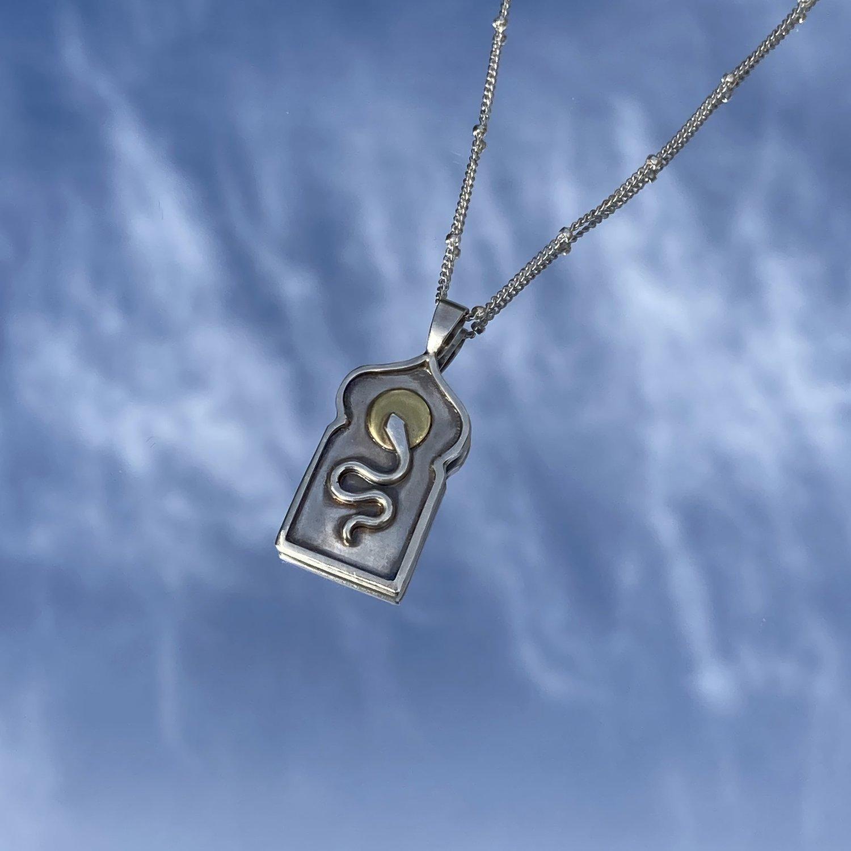 Lima Lima - Serpent Talisman necklace