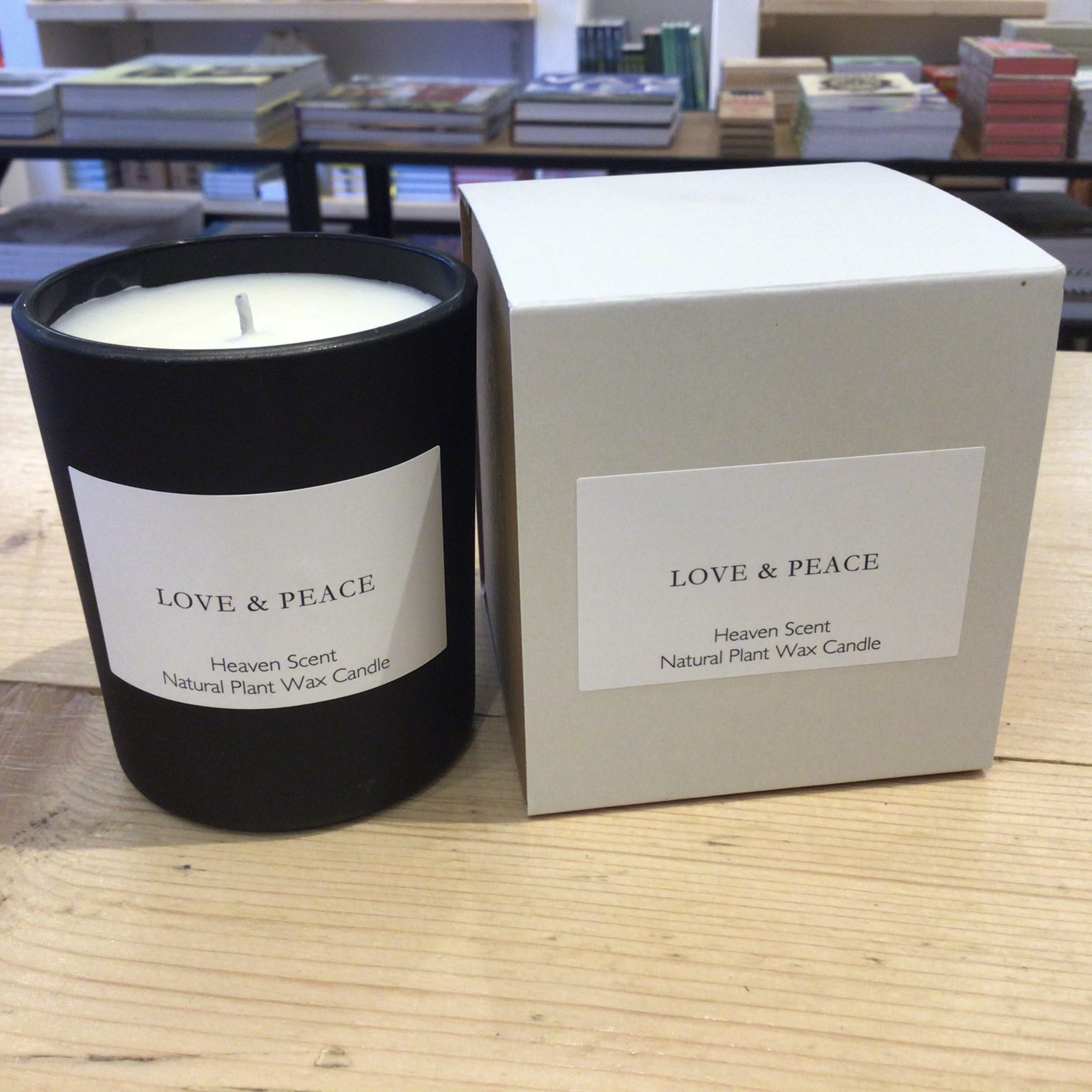 Heaven Scent - Love & Peace - Natural Plant Wax Candle